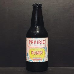 Prairie Ales Bomb! Cacao Coffee Vanilla Chilli Pepper Imperial Stout USA vegan