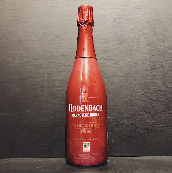 Rodenbach Caractere Rouge Flanders Red Belgium vegan