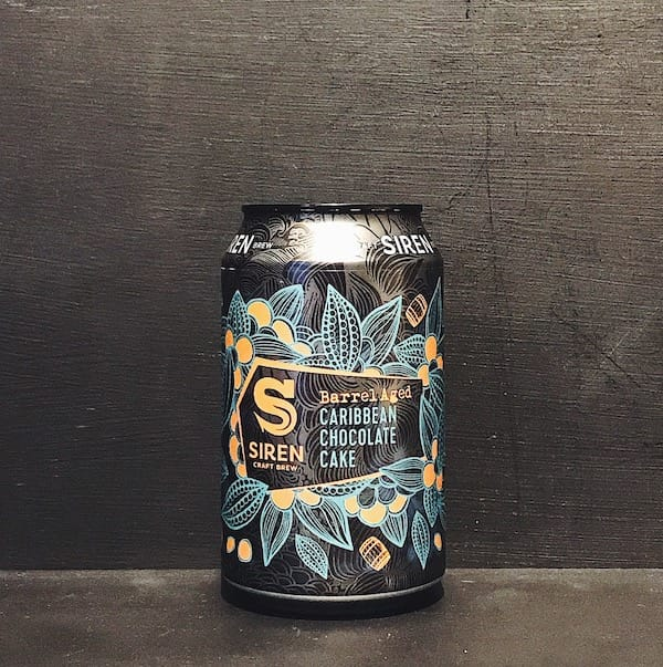 Siren Craft Brew Barrel Aged Caribbean Chocolate Cake Tropical Stout Berkshire
