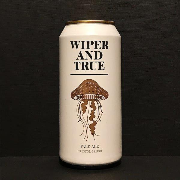 Wiper and True Bristol Crush Grapefruit Pale Ale vegan