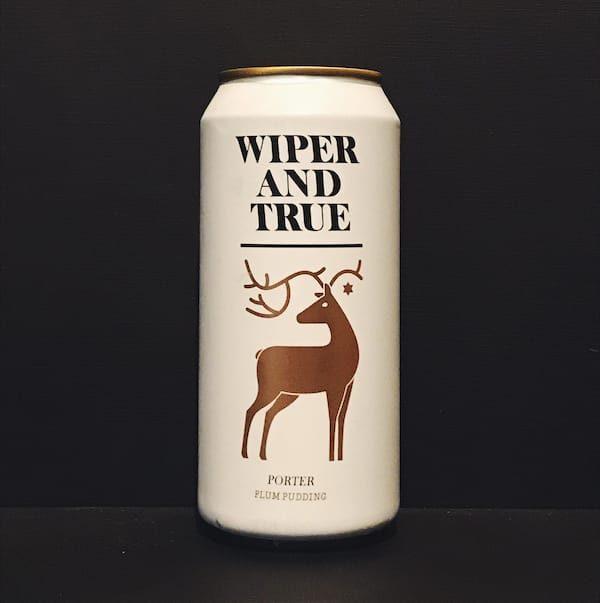 wiper and true plum pudding bristol porter vegan