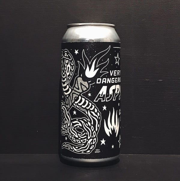 Black Iris Very Dangerous Asps Mosaic DIPA Nottingham vegan