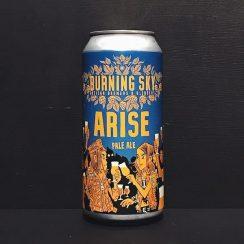 Burning Sky Arise Pale Ale Sussex vegan