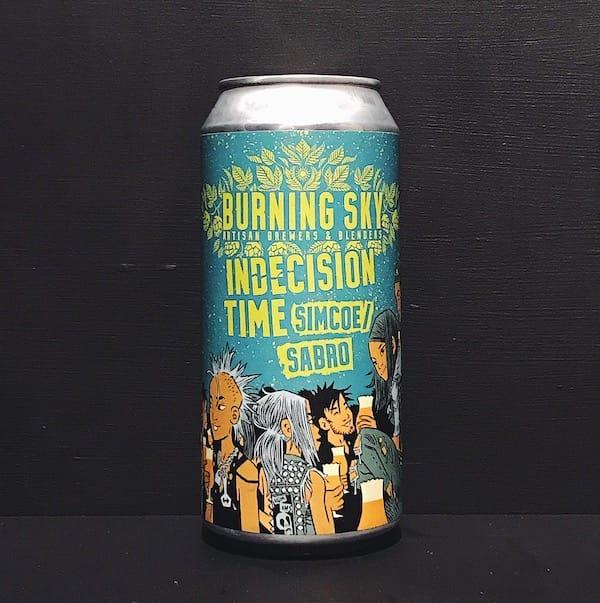 Burning Sky Indecision Time Pale Ale Sussex vegan