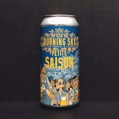 Burning Sky Petite Saison Sussex vegan