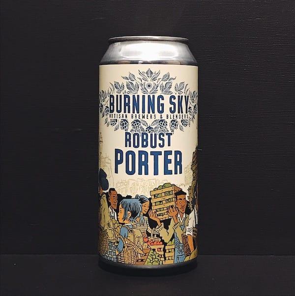 Burning Sky Robust Porter Sussex vegan