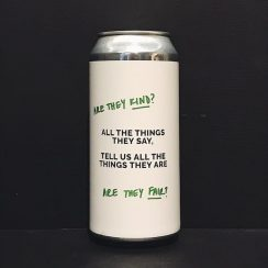 Cloudwater All The Things They Say Tell Us The Things They Are Blood Orange & Passionfriuit Sour Manchester vegan