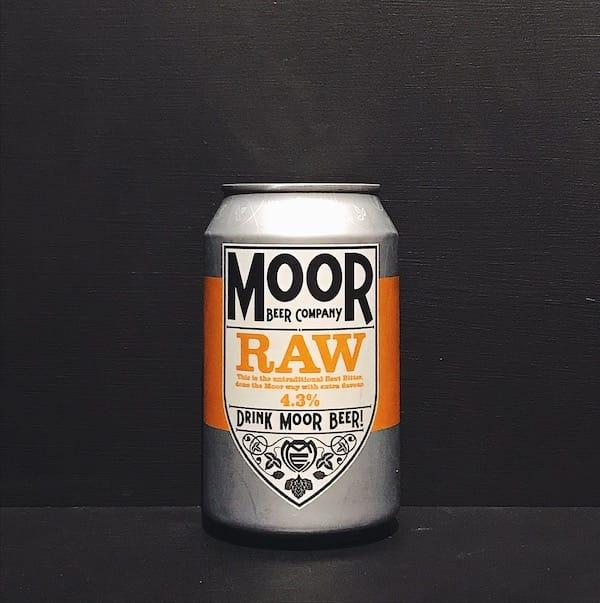 Moor RAW Modern Bitter Bristol vegan