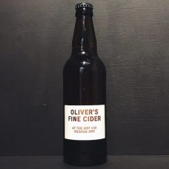 Olivers At The Hop 10 Fine Medium Dry Hopped Natural Cider Herefordshire vegan gluten free