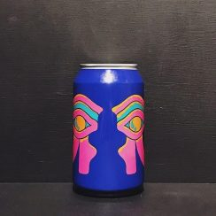 Omnipollo Antropomorf Low Alcohol Pale Ale Double Dry-Hopped Double Vanilla Double Mango Smoothie Pale Ale. Sweden vegan