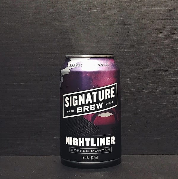 Signature Nightliner Coffee Porter London vegan