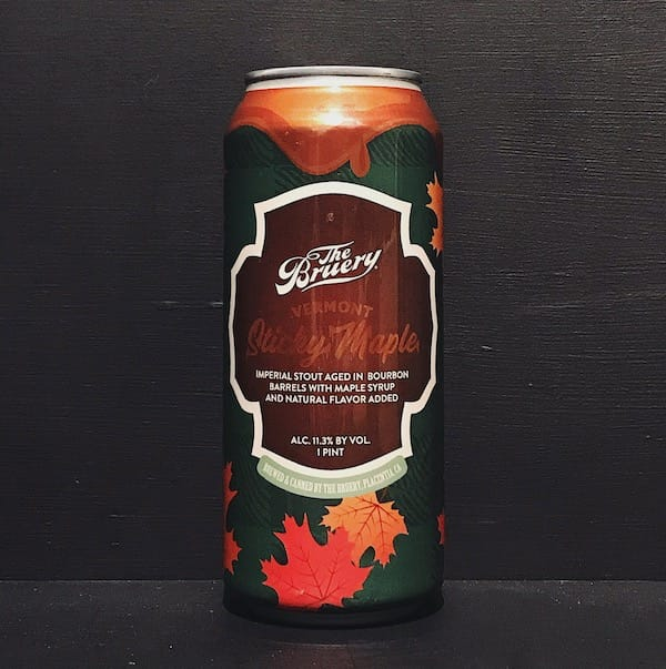 The Bruery Vermont Sticky Maple Imperial Stout USA vegan