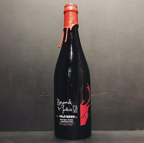 Wild Beer Beyond Modus VI Barrel Aged + Blended + Special Edition 2019. Sour Somerset vegan