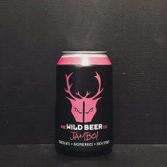 Wild Beer Co Jambo! Imperial Stout + Chocolate + Raspberries. Somerset vegan