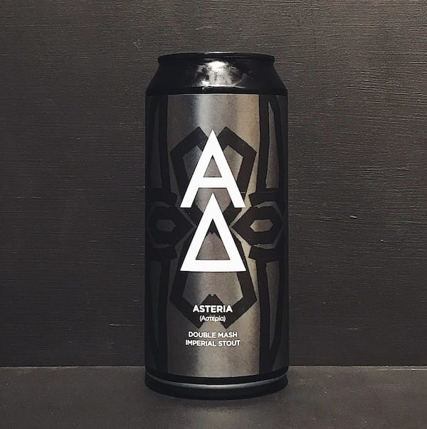 Alpha Delta Asteria Double Mashed Imperial Stout Newcastle vegan