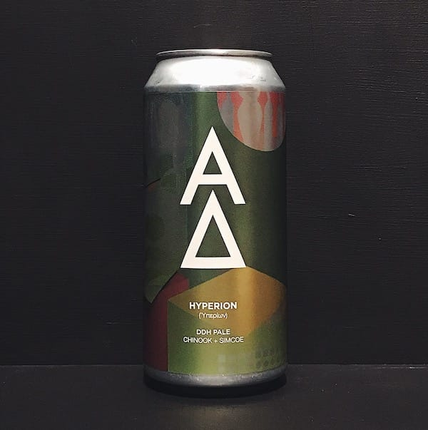 Alpha Delta Hyperion DDH Pale Newcastle vegan