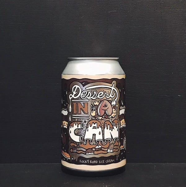 Amundsen Dessert In A Can Rocky Road Ice Cream Imperial Stout Norway