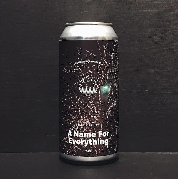 Cloudwater A Name For Everything Imperial Passion Fruit Sour. Manchester vegan