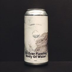 Cloudwater A Ever Flowing Body Of Water Citra / Mosaic / Rakau IPA. Manchester vegan