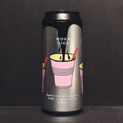 CR/AK Moka Ciok Imperial Stout with Chocolate Coffee Vanilla & Lactose. Italy