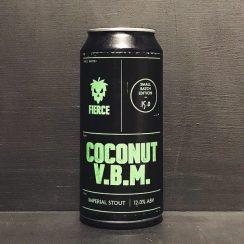 Fierce Coconut VBM Imperial Stout Scotland vegan