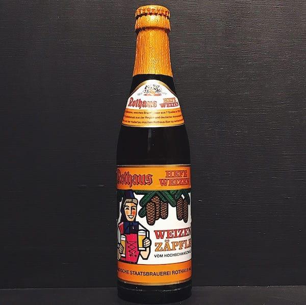 Rothaus Hefeweizen Zapfle Wheat Beer Germany vegan