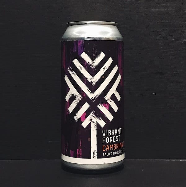 Vibrant Forest Cambrian Root Salted Liquorice Stout Hampshire vegan