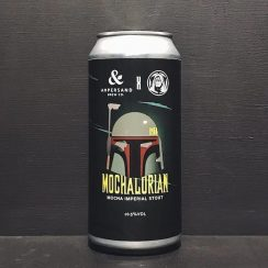 Ampersand Emperors Mochalorian Mocha Imperial Stout Norfolk vegan collaboration