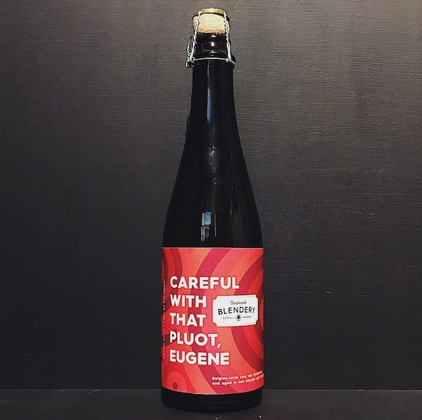 Beachwood Blendery Careful With The Pluot Eugene Lambic-style, barrel-aged ale with pluot. USA vegan