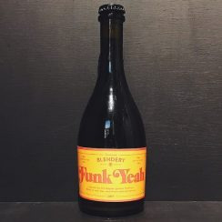Beachwood Blender Funk Yeah Gueuze Lambic style ale. USA vegan