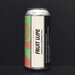 Brass Castle Fruit Lupe Chinook & Grapefruit Pale Ale Yorkshire Gluten Free Vegan