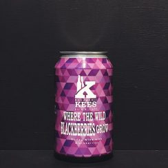 Kees Wander Beyond Where The Wild Blackberries Grow Blackberry Barley Wine collaboration Netherlands vegan