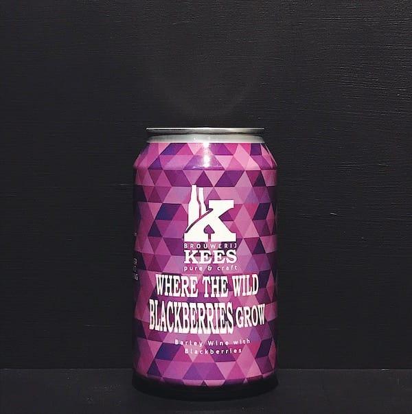 Kees Wander Beyond Where The Wild Blackberries Grow Blackberry Barley Wine collaboration Netherlands vegan
