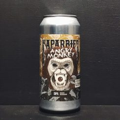 Naparbier LIC Beer Project Angry Monkey DIPA Spain vegan
