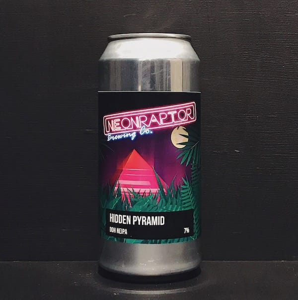 Neon Raptor Hidden Pyramid DDH NEIPA Nottingham vegan