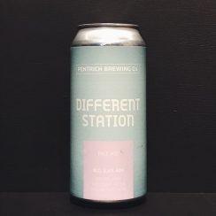Pentrich Different Station Pale Ale Derbyshire vegan