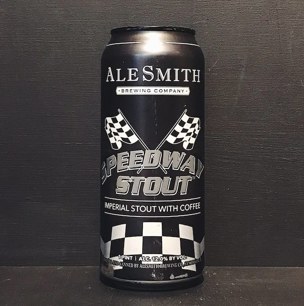 Alesmith Speedway Stout USA Vegan friendly