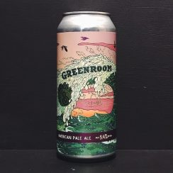 Barrier Green Room American Pale Ale USA vegan