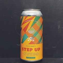 Cloudwater Rock Leopard Step Up Stout Manchester collaboration vegan