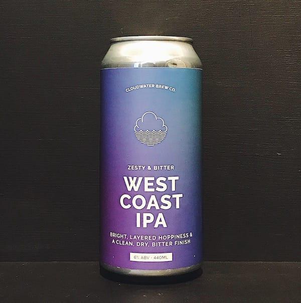 Cloudwater West Coast IPA Manchester vegan