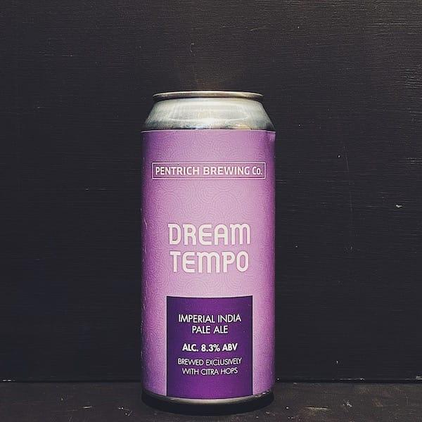 Pentrich Dream Tempo Imperial India Pale Ale Derbyshire vegan