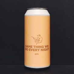 Pomona Island Same Thing We Do Every Night DIPA Salford vegan