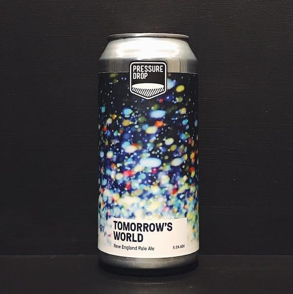 Pressure Drop Tomorrows World New England Pale Ale London vegan