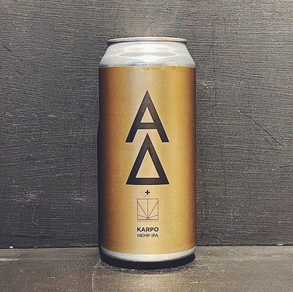 Alpha Delta Karpo Hemp IPA Newcastle vegan