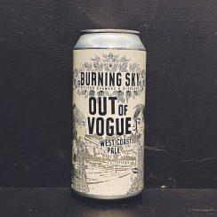 Burning Sky Out Of Vogue West Coast Pale Ale Sussex vegan