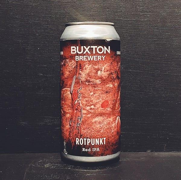 Buxton Rotpunkt Red IPA Derbyshire vegan