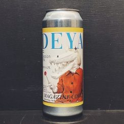 Deya Magazine Cover Session IPA Cheltenham vegan