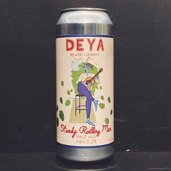 Deya Steady Rolling Man Pale Ale Cheltenham vegan