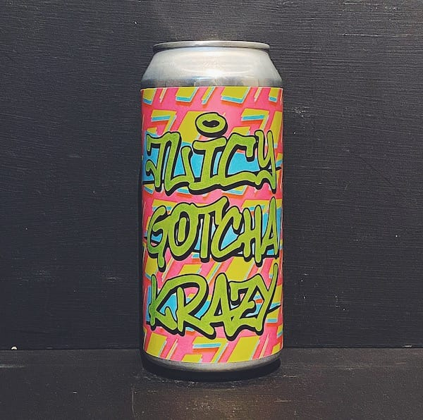 Dry & Bitter Interboro NYC Juicy Gotcha Krazy DIPA Denmark vegan collaboration