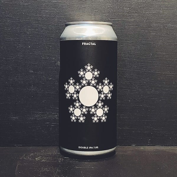 Gamma Brewing Fractal Double IPA Denmark vegan